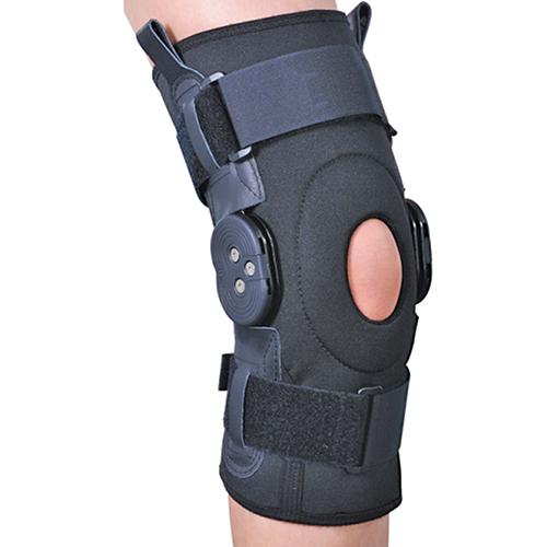 Ортез на коленный сустав со специальными шарнирами для регулировки угла сгибания ES-797