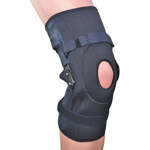Ортез на коленный сустав разъемный с полицентрическими шарнирами ES-798