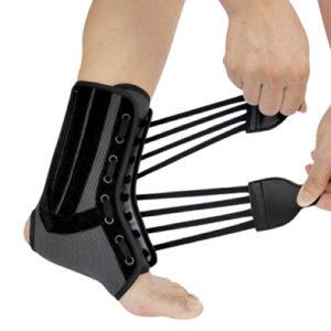 Бандаж на гомілковостопний суглоб зі спіральними ребрами жорсткості WH-917