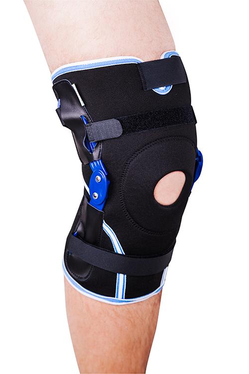 Ортез на коленный сустав с полицентрическими шарнирами неразъемный ES-7A02